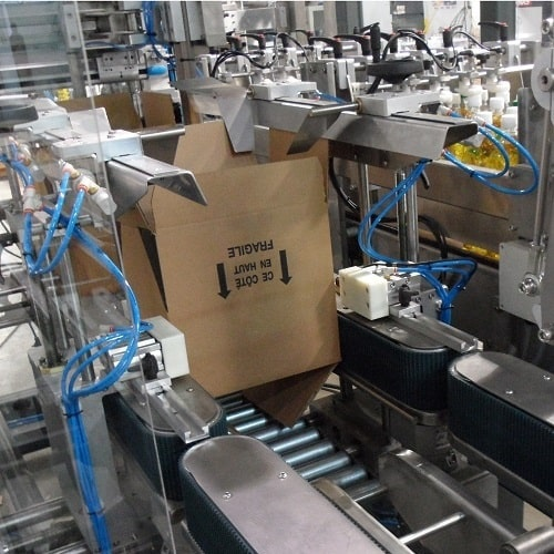 Automatic Case-Packer Machine